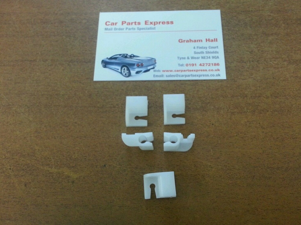 Ford Sierra Escort RS Turbo Cosworth XR Brake Pipe Clip set X 5