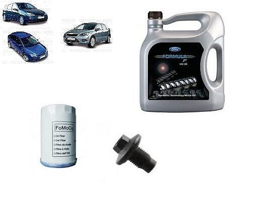 GENUINE FORD DIESEL SERVICE KIT OIL & FILTER TO FIT FORD FOCUS MK1 MK2