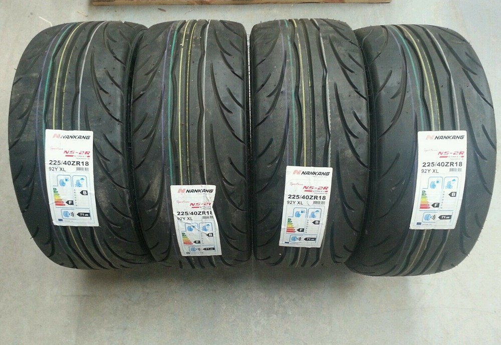NANKANG NS2-R TRACK DAY TYRE SET 225/40/18 180 COMPOUND FOCUS RS MK1 FOCUS ST