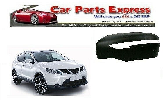 NEW PAINTED WING MIRROR COVER FOR NISSAN QASHQAI 2014-2017 N/S LEFT - ANY COLOUR