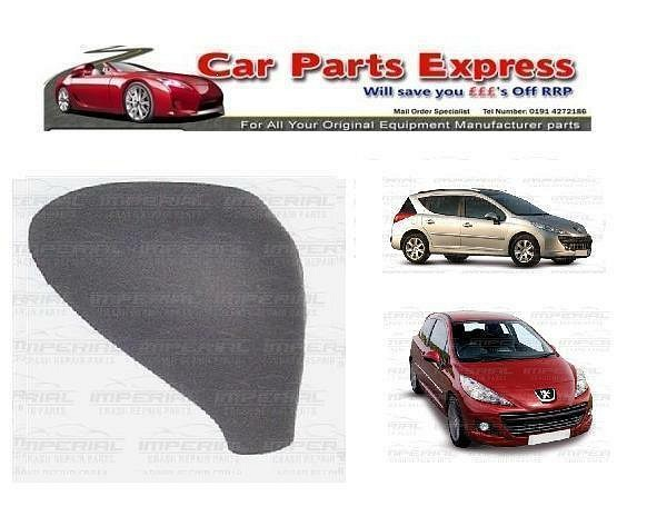 PEUGEOT 207 2006-2012 MODELS NEW PAINTED WING MIRROR COVER O/S RIGHT  ANY COLOUR
