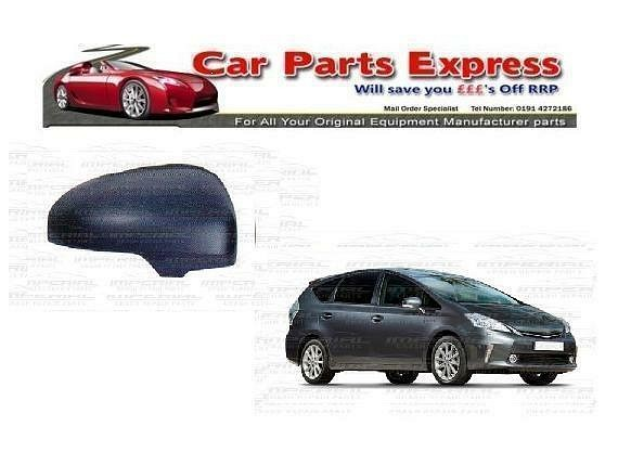 TOYOTA PRIUS PLUS 2012>ONWARD NEW PAINTED WING MIRROR COVER O/S RIGHT ANY COLOUR