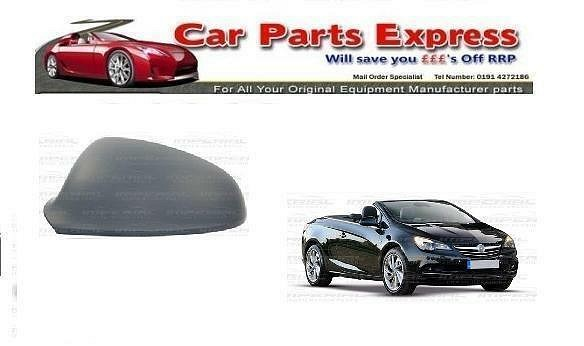 VAUXHALL CASCADA 2013> NEW PAINTED WING MIRROR COVER O/S RIGHT - ANY COLOUR
