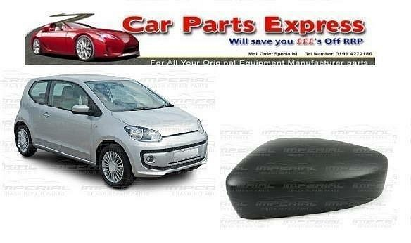 VW UP! 2012> ONWARDS - NEW PAINTED WING MIRROR COVER N/S (LEFT) - ANY COLOUR