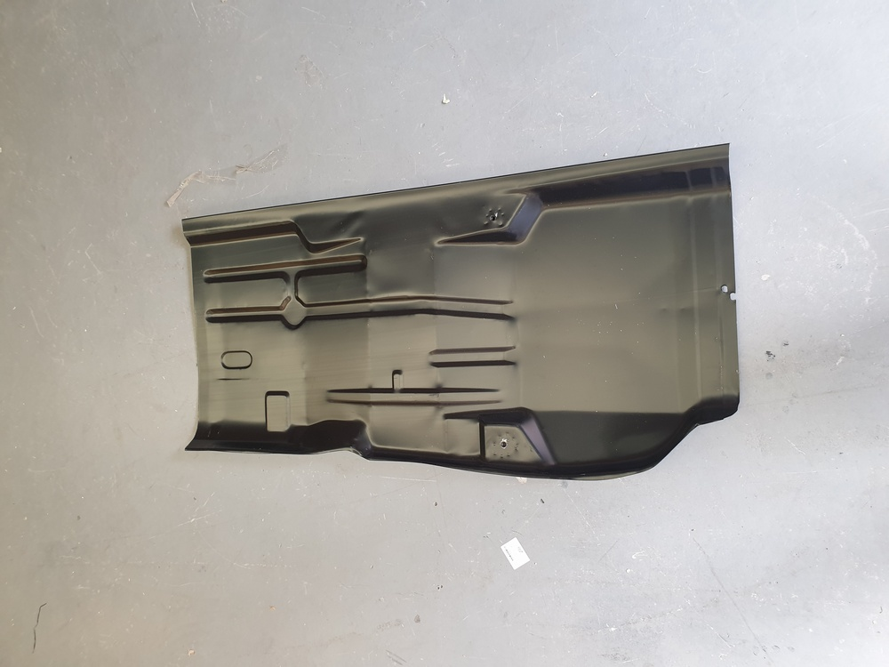 FORD ESCORT MK3 MK4 COMPLETE OS RIGHT HAND FLOOR PANEL