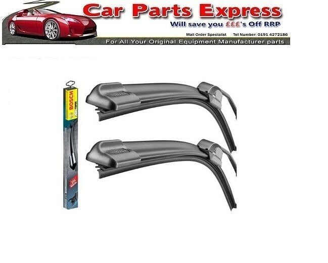 FORD FOCUS RS MK1 BOSCH AEROTWIN FRONT WIPER SET