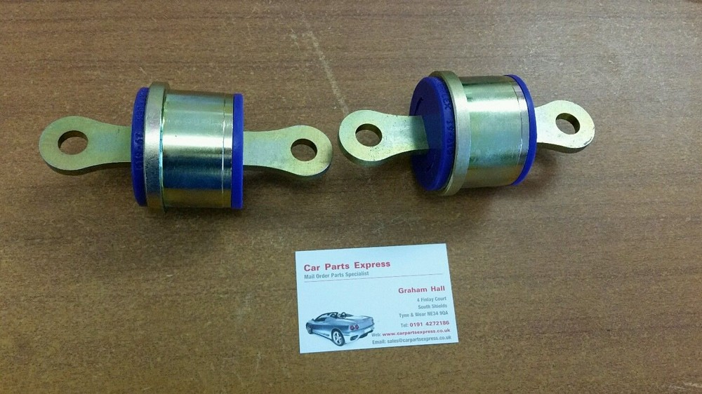 FORD FOCUS RS MK1 REAR POWERFLEX TRAILING ARM BUSH KIT