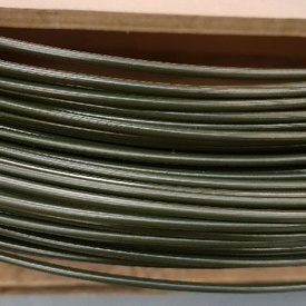 OLIVE GREEN STEEL BRAKE PIPE 4.76MM X 30FT CLASSIC FORD 30FT ROLL CAR BRAKE PIPE